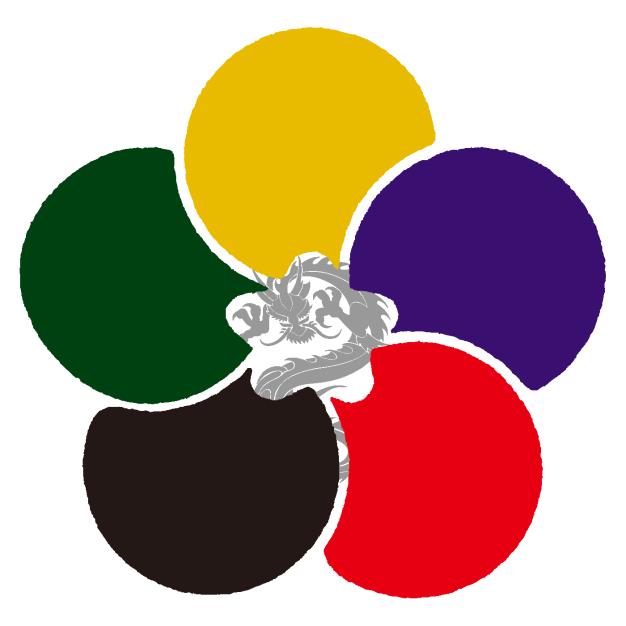未来の祀り5色ロゴ
